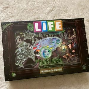 Disney Haunted Mansion Game Of Life Board Game